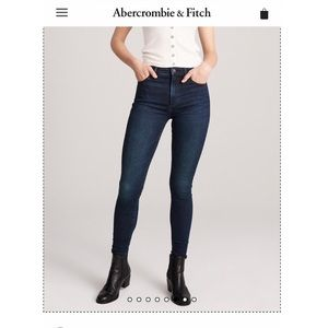 EUC Abercrombie & Fitch Jeans